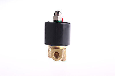"G1/8"" BSP 220V AC 2W-025-06 2.5mm Orifice Electronic Solenoid Water Valve"