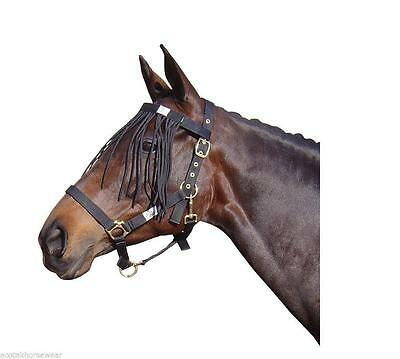 Harry's Horse Fly Browband with Fringe Harry's Horse