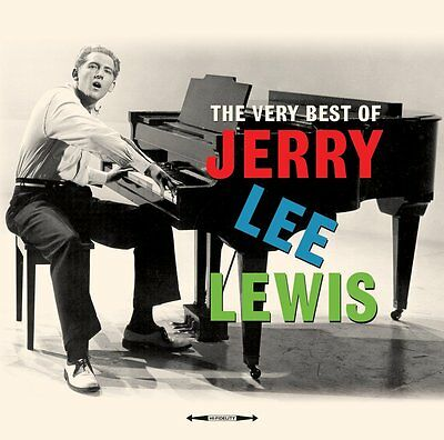 Jerry Lee Lewis - The Very Best Of (180g Vinyl 2LP Gatefold) NEW/SEALED