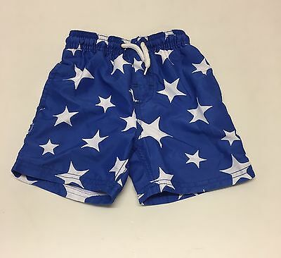 Baby Boys Blue Star Design Swim shorts.Aged 18-24 Months.From NEXT.!!