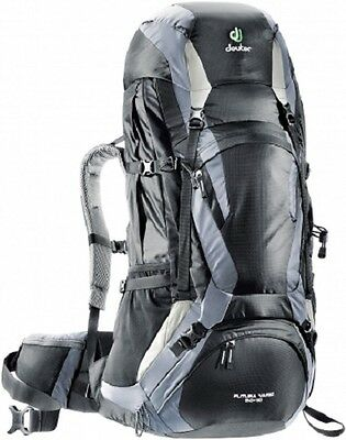 Zaino Backpack Trekking Escursionismo Alpinismo DEUTER FUTURA VARIO 50 +10 Black