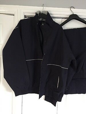 Men's Golf Waterproof Jacket And Trousers Size XL