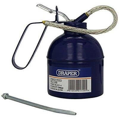 Force Feed Oil Can (700ml Cap) - Draper 700ml 21720