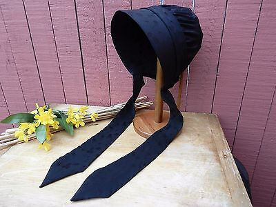 Amish Bonnet from Amish Farm with Long Fancy Ties Authentic