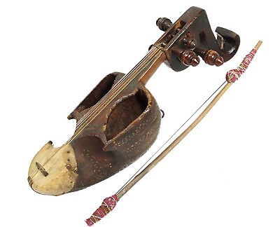 exotic musical instrument India afghanistan pakistan Sarinda Ghichak 17A سارنده‎