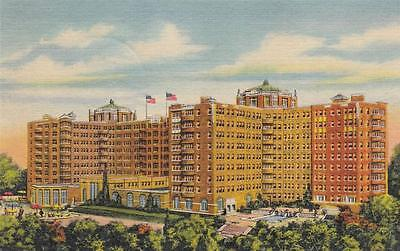 Vintage POSTCARD c1956 The Shoreham Hotel WASHINGTON, DC 17340