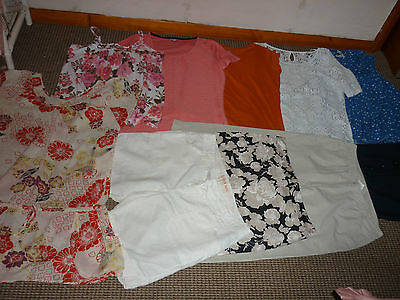 Bundle Womens Clothes Size 14 New Look Next Conran Shorts Dress Tops Skirt