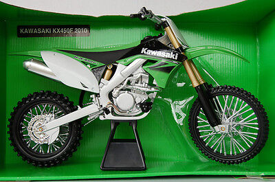KAWASAKI KX450F 2010  HUGE  1/6th  MODEL MX  MOTORCYCLE