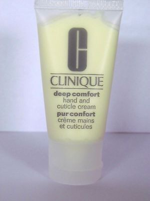 Clinique Deep Comfort Hand and Cuticle Cream 30ml new