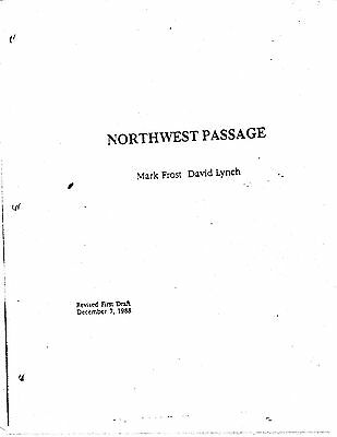 Twin Peaks Script Pilot Northwest Passage