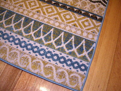 Hallway Runner Hall Runner Rug 3 Metres Long Multi Colored Blue FREE DELIVERY