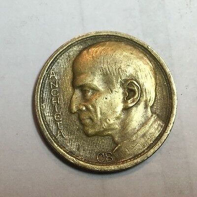 BRAZIL 1938 1000 Reis coin very nice condition
