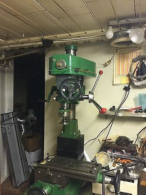 MACHINIST TOOLS LATHE MILL Machinist Jet Bench Top Mill Milling Machine