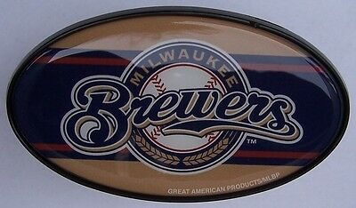 Trailer Hitch Cover MLB Baseball Milwaukee Brewers NEW