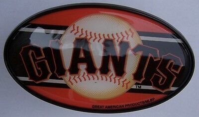 Trailer Hitch Cover MLB Baseball San Francisco Giants NEW