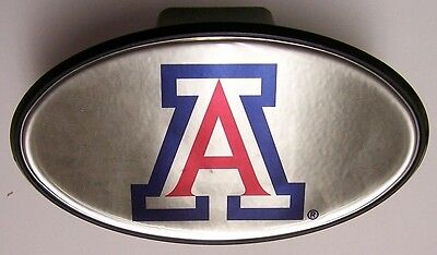 Trailer Hitch Cover NCAA Arizona Wildcats NEW with hitch pin