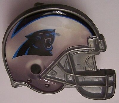 Trailer Hitch Cover NFL Carolina Panthers NEW Metal Football Helmet