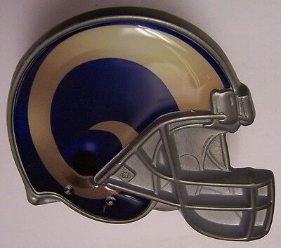 Trailer Hitch Cover NFL Los Angeles Rams NEW Metal Football Helmet