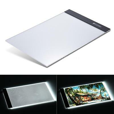 A4 Thin Art LED Light Box Stenciling Tracing Board Artist Drawing Pad Table O5C8