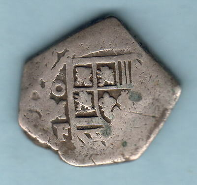 Mexico. 1732-F 4 Reales..  13.36gms..  aFine