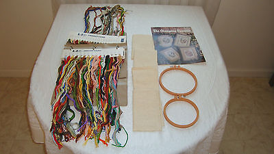 Lot of Embroidery Supplies Pre-Owned