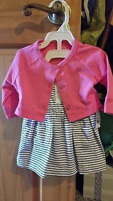 Baby Girl Carters Summer Dress NWT Size 3 Months