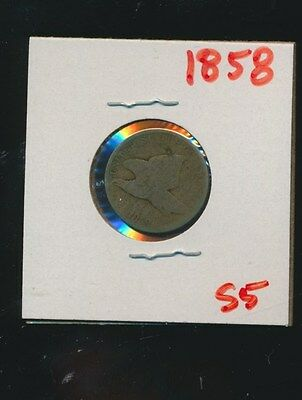 Flying Eagle Penny 1858 - #s5