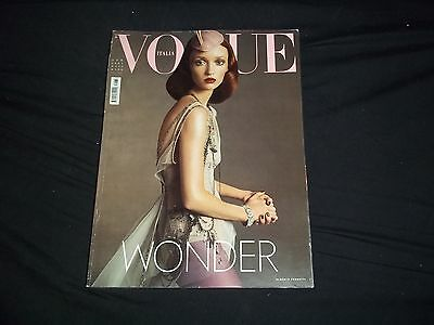 2003 April Vogue Italia Magazine - Audrey Marnay - Fashion Cover - F 2961