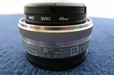 Sony SEL SEL16F28 Wide Angle 16mm f/2.8 AF MF Lens