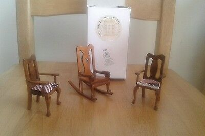 the dolls house emporium chairs rocking chair bnwot