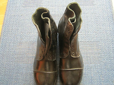 British Army nailed boots size 9M(used)