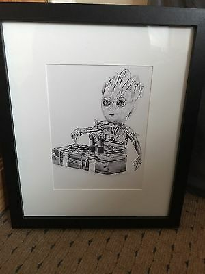 guardians of the galaxy Baby Groot Drawing