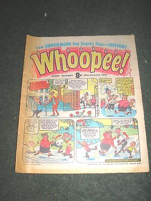 Whoopee Comic Monday 27Th August 1977 Excellent Condition
