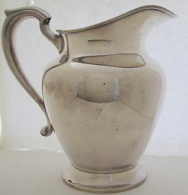 Reed & Barton X765 Sterling Silver Water Pitcher