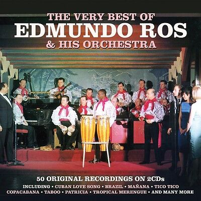 Edmundo Ros - The Very Best Of - 50 Original Recordings (2CD 2016) NEW/SEALED