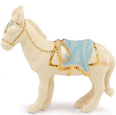 Lenox First Blessing Donkey Porcelain Christmas Nativity Figurine 841846 New
