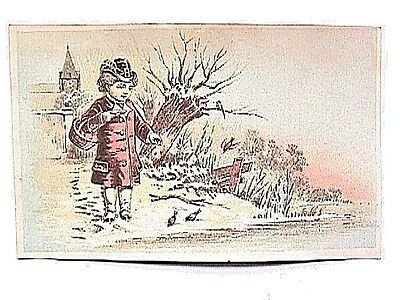Universal Wringer Collectible Antique Victorian Trade Card