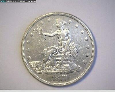 1877 Trade Silver Dollar - Nice ! * Take a LooK * * REDUCED *