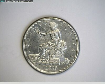 1876-S Trade Silver Dollar - Nice ! * Take a LooK * *REDUCED*