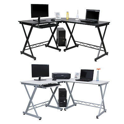 Multifunction Large Corner Computer Desk PC Desk for Home Office Study Table