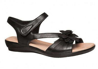 New Hush Puppies Dallas Womens Leather Comfortable Sandals