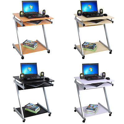 Movable Computer Desk PC Table Portable Workstation for Home Office Study Desk