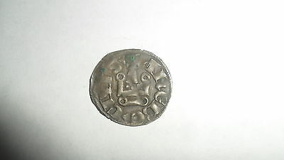 CRUSADERS GUY II   GUILLAUME DUCHY OF ATHENS Ca 1280 AD  DENIER SILVER NICE COIN