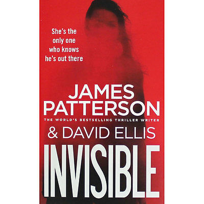 Invisible by James Patterson (Paperback), New Arrivals, Brand New