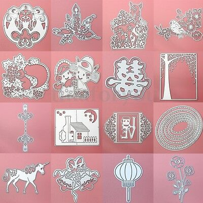 Metal DIY Cutting Dies Stencil Scrapbook Album Paper Card Embossing Craft Gift