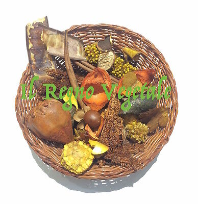 IDEA Regalo POT-POUT POURRI Naturale Sandalo PROFUMATO DECORATIVO OFFERTA 100 g