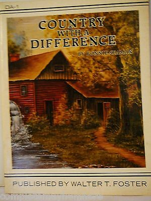 Country with a Difference by Bonnie Seamen- folk art painting