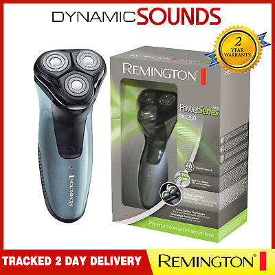 Remington PR1250 Power Series Rotary Flex 360 3 Head Rechargeable Shaver