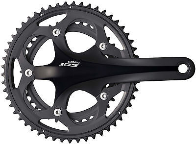 Shimano 105 FC5700  10 Speed Double Chainset 53/39T Black 175mm Arm RRP £150