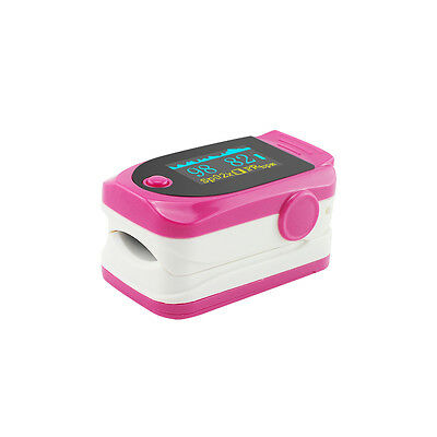 Fingertip Pulse Oximeter Blood Oxygen Saturation Oximetry Monitor with lanyard